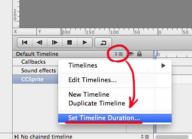 Set Timeline Duration
